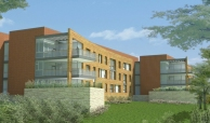 Rendering of the future Danville Supportive Housing property for veterans