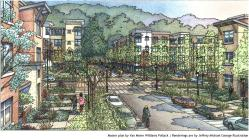 Rendering of Sunnydale redevelopment
