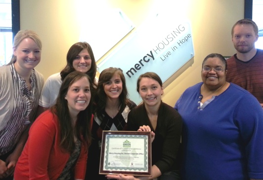 Mercy Housing's Corporate Office Green Team