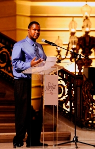 Fred Copeland speaking at the Mercy Housing 30th Anniversary Gala in San Francisco