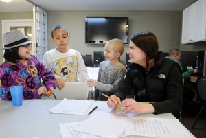 Out-of-School-Time activities provided by Mercy Housing Resident Services