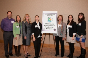 "Mercy Housing's National Office ""Green Team"" at the Colorado Environmental Leadership Program Award Ceremony"