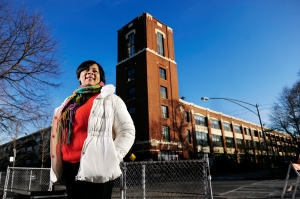 Tomeka, former resident of Pullman Wheelworks Apartments