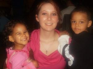 Katherine and her children