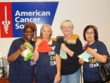 White Rock Village Knitting Team Donate Caps to CancerPatients