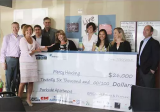 EPIC's National Real Estate Practice presents Mercy Housing with $26,000 to fund summer youth program and improvements