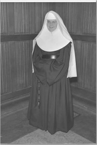 Sister Patsy in her habit, Mercy Housing