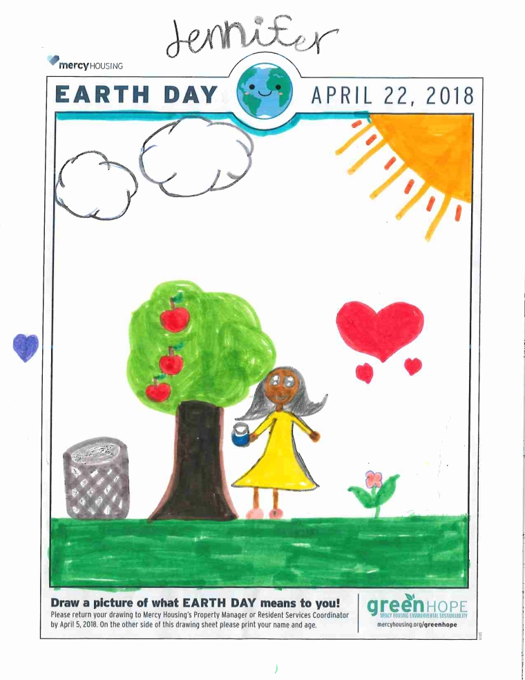 JenniferEarthDay Drawing