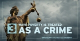 3 Ways Poverty is Treated As a Crime